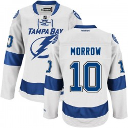 Tampa Bay Lightning Brenden Morrow Official White Reebok Authentic Adult Road NHL Hockey Jersey