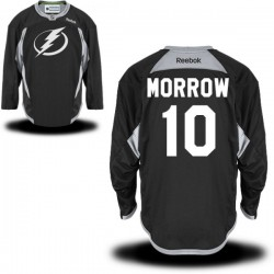 Tampa Bay Lightning Brenden Morrow Official Black Reebok Authentic Adult Practice Team NHL Hockey Jersey
