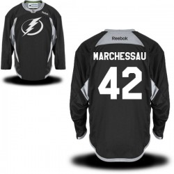 Tampa Bay Lightning Jonathan Marchessault Official Black Reebok Authentic Adult Practice Team NHL Hockey Jersey