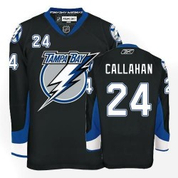 Tampa Bay Lightning Ryan Callahan Official Black Reebok Premier Adult NHL Hockey Jersey