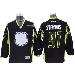 Tampa Bay Lightning Steven Stamkos Official Black Reebok Authentic Adult 2015 All Star NHL Hockey Jersey