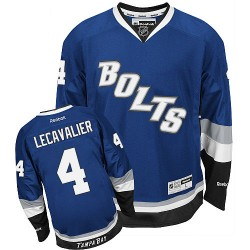 Tampa Bay Lightning Vincent Lecavalier Official Royal Blue Reebok Premier Adult Third NHL Hockey Jersey