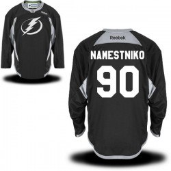 Tampa Bay Lightning Vladislav Namestnikov Official Black Reebok Authentic Adult Practice Team NHL Hockey Jersey