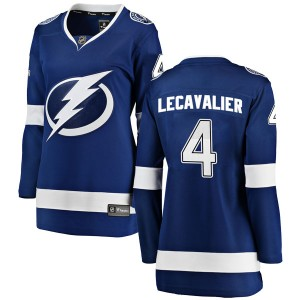 Tampa Bay Lightning Vincent Lecavalier Official Blue Fanatics Branded Breakaway Women's Home NHL Hockey Jersey